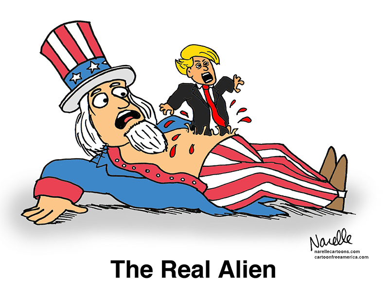 The Real Alien - Brian Narelle