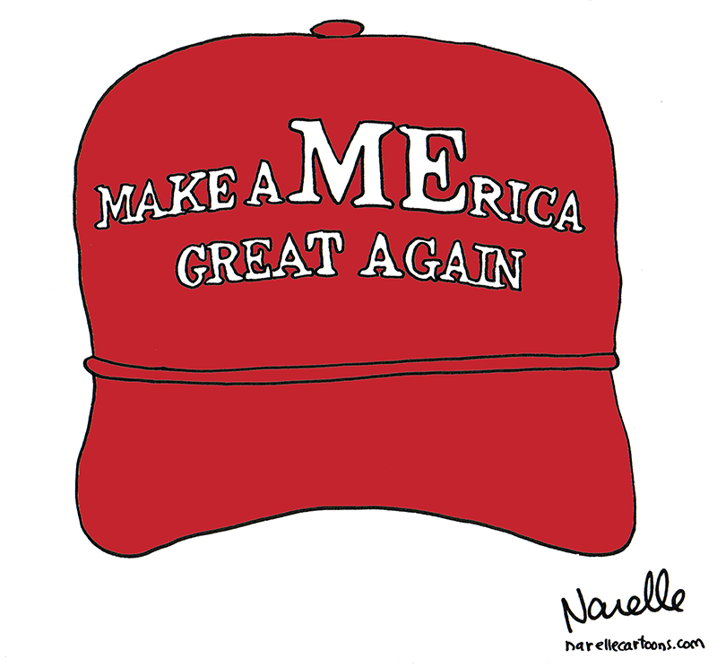 The Real Donald Trump Hat: Make aMErica Great Again - Brian Narelle