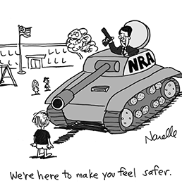 The NRA Offers a �Meaningful Contribution� to Gun Discussion - Brian Narelle