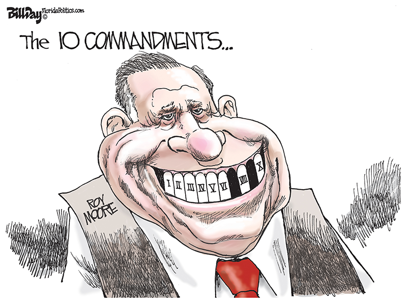 The 10 Commandments (Roy Moore) - Bill Day