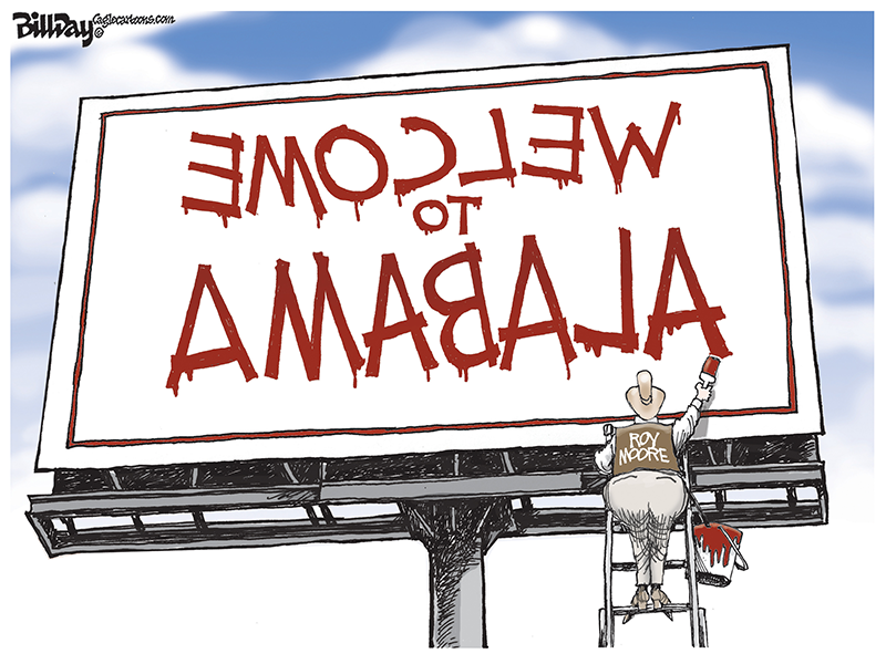 Welcome to Alabama (Roy Moore) - Bill Day